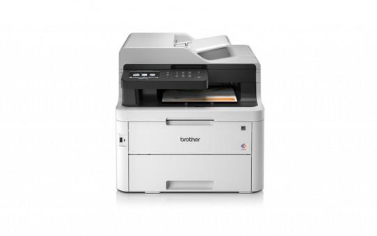מדפסת לייזר משולבת צבעונית ברדר 3750 BROTHER